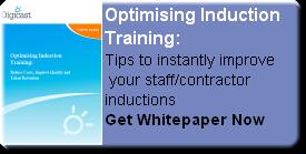 Optimising induction training